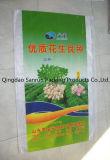 Saco tecido PP para a semente com impressão colorida