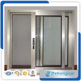 Ventana de desplazamiento de aluminio del perfil/ventana de cristal doble de aluminio con la pantalla de la ventana