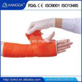 Bande médicale de bâti de fibre de verre de bande de bâti d'Orthpedic de bandage diplôméee par ce de FDA d'OIN