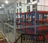 Espacio de trabajo de alambre de malla de reparto o valla independiente