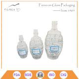 бутылка формы бомбы 750ml стеклянная для упаковки вина
