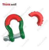 3/4インチの手錠のためのDリングのアイソレーターの洗濯機の手錠カバー