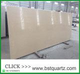 Bordo branco parte superior projetada da vaidade da pedra de quartzo