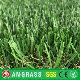 Modific il terrenoare prezzi artificiali del tappeto erboso del monofilamento naturale dei pp + del PE per il giardino