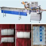 China-Fabrik-Preis-automatische medizinische Baumwollfluss-Verpackungs-Maschine mit Omron PLC
