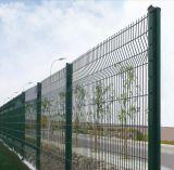 Puder beschichteter geschweißter Maschendraht-Zaun, Garten-Zaun