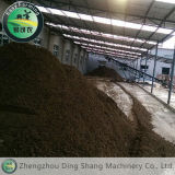 Linea di produzione del fertilizzante organico del concime della mucca