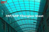 Доска панели Glassfiber просвечивающая Corrugated FRP стеклоткани FRP/GRP