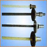 Rebar de alta resistencia de la cuerda de rosca de la fibra de vidrio de FRP