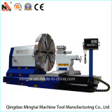 Große CNC-Drehbank für die maschinelle Bearbeitung der geschmiedeten Stahlplatte (CK64160)