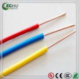 PVC-Isolierungs-gelbe/grüne Farben-elektrischer Draht