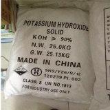 수산화 칼륨은 90% 의 부식성 칼륨 얇은 조각이 된다