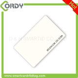 Impressão térmica de acabamento brilhante 125kHz EM4200 cartão de PVC branco em branco
