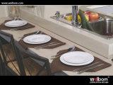 2015 [Welbom] preiswerteste moderne Auslegung-lamellierte Küche-Möbel