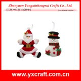 Decoración de Navidad (ZY14Y481-1-2-3 16CM) navidad decoración del coche decoración del fieltro Decoración de la Navidad