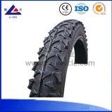 자전거 타이어 고무는 자전거 부틸 내부 관을 선회한다