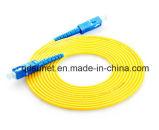 Sc/LC/FC/St Singlemode Simplex/DuplexPatchcord 5m de Optica van de Vezel van 15m 20m