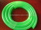 "Шланг сада 1/2 полива воды волокна PVC пластмассы гибкий усиленный Braided """