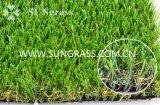 S Kunstmatige Gras van het Landschap van de Vezel van de Vorm het Zachte (sunq-AL00072)