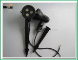 조경 투광램프를 위한 3W 정원 LED 반점 점화 DC12V