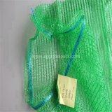 Sac de fruit de réseau de maille de Raschel de PE de matériau recyclable