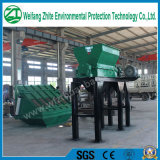 Fábrica industrial do Shredder para animais inoperantes//Tire plástico/de madeira