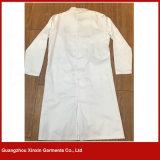 El doctor blanco Lab Coat Wear Uniform (H28) del algodón barato de encargo