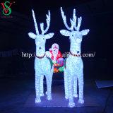 خارجيّة [لد] يشعل [سنتا] كلاوس [سلي] عيد ميلاد المسيح زخرفة