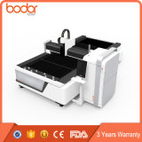 Sheet Metal CNC 500W 1000W Fibra Laser Square Tube Cutting Machine Cutter Laser para venda