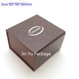Caja de embalaje determinada de la laminación Jy-Jb72 de la cartulina del papel de la joyería brillante de la manera