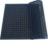 Циновка резины дренажа выскальзования резиновый полового коврика кухни анти-