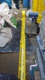 Лента кабеля с жилами неодинакового сечения полиэтилена высокой плотности предупреждающий