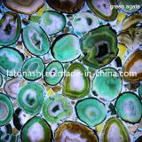 Agate blu Glass Mosaic Tile per la piscina, Bathroom Flooring