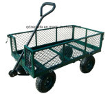 Chariot professionnel neuf de yard et de jardin de pouce vert