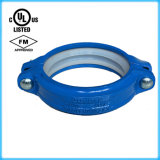 Acoplamento rígido do ferro Ductile/braçadeiras Grooved, UL FM