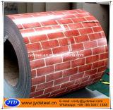 Feuille de toit du modèle PPGI de brique