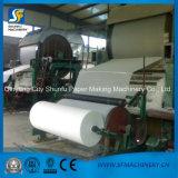 Pequeño rodillo del tejido de tocador que hace la máquina para la cadena de producción del papel de tejido de tocador