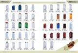 Bouteilles en plastique de module de capsule de la bouteille 200ml d'animal familier chaud de vente