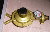 Válvula de cobre amarillo de la válvula de la vávula de bola del gas/del cilindro de la seguridad/del cilindro de la seguridad