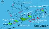 Fábrica automática de la empaquetadora del flujo de la esponja del producto de limpieza de discos