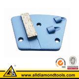 Ferramentas principais de moedura do diamante, placa do Trapezoid de PCD