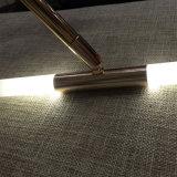 Indicatore luminoso su ordine del pendente del tubo del gambo di Starfall LED della meteora della giuntura universale di rotazione del rame 360 dell'hotel