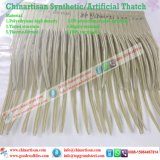 PE/PVC人工的なPalm  Synthetic  Thatch  屋根Materils
