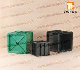 Moule en plastique de cube en fer de bas-de-ligne, moule de cylindre, moule de prisme