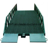 製造業者販売の頑丈で安いドックレベラーの傾斜路の油圧電気倉庫のフォークリフトのローディングの働く傾斜路