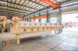 Imprensa de filtro clássica da câmara de Dazhang para o tratamento de água de esgoto de Paper&Pulp
