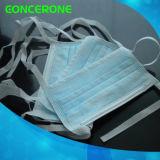 使い捨て可能TieとNonwoven Surgical Face Maskに3執ように勧めなさい