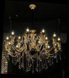 Luz de cristal moderna do candelabro da lâmpada do dispositivo elétrico de iluminação do pendente da decoração de Swarovski dos braços de Phine 6~8~15~18~36
