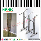 Garment 6-Way pieghevole Display Rack