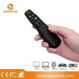 drahtloser Zeiger Laser-2.4G mit Sixaxis Kreiselkompaß für intelligenten Fernsehapparat (ZW-51014)